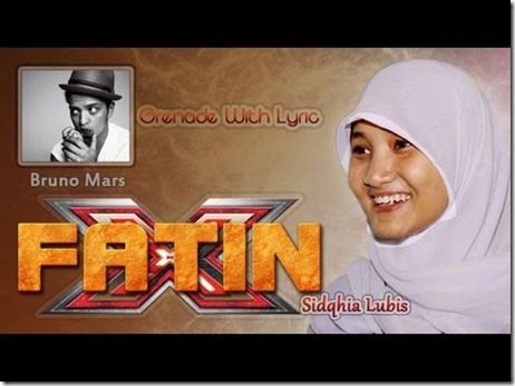 Video X Factor Terbaru Fatin Shidqia Lubis Pumped Up Kicks