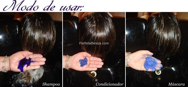 shampoo desamarelador- kit desamarelador como usar