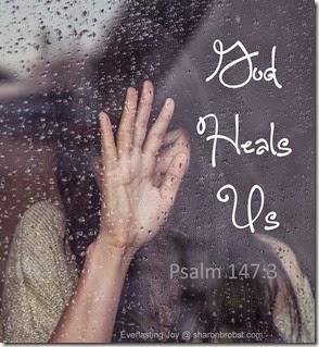 heals us