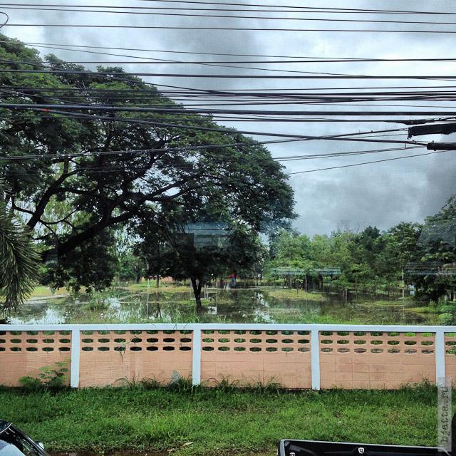 7. Сезон дождей. Таиланд 2555. Thailand