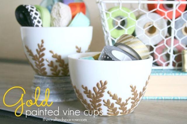 painted vine mug 9-1