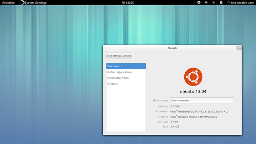 Ubuntu GNOME Beta 2