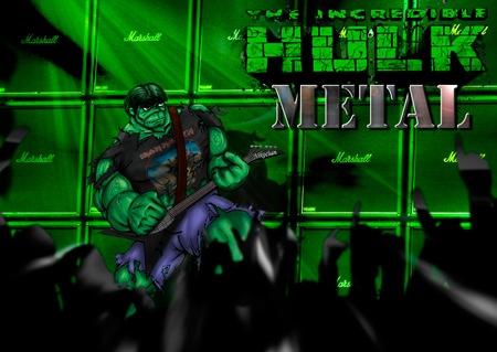 Un Hulk para Richi, por Albert Mestres