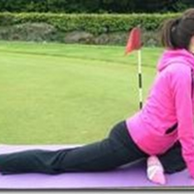 "Anne Marie Kennedy-Yoga For Golf-""Pigeon"" For Hip Mobility"