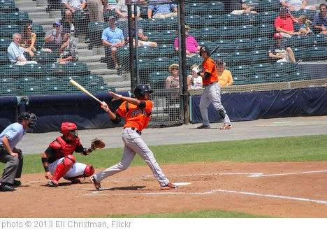 'Richmond Flying Squirrels vs. Bowie Baysox' photo (c) 2013, Eli Christman - license: https://creativecommons.org/licenses/by/2.0/