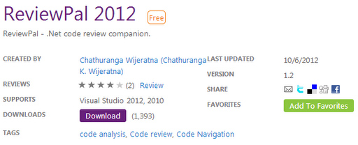 ReviewPal 2012