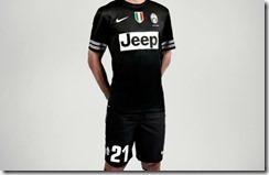 Juventus camiseta suplente 2012-2013