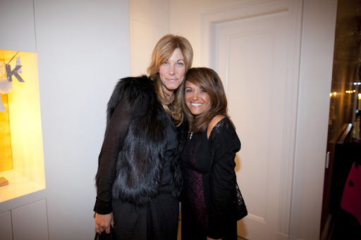 Erica Arkin of Vera Wang and Lori Weil