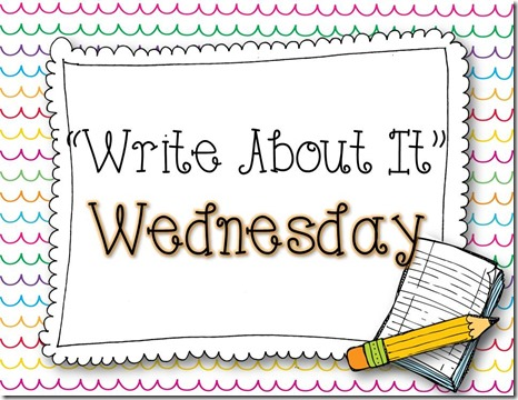 Write About It Wednesday Graphic