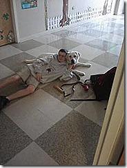 matt omri school hallway