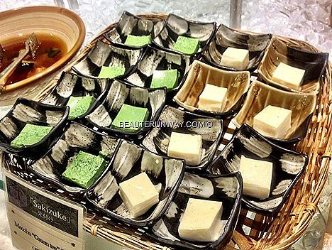 chiso zanmai sakizuke matcha pudding green tea desserts mochi tiramisu creme brulee sweet corn jelly