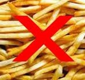 no fries