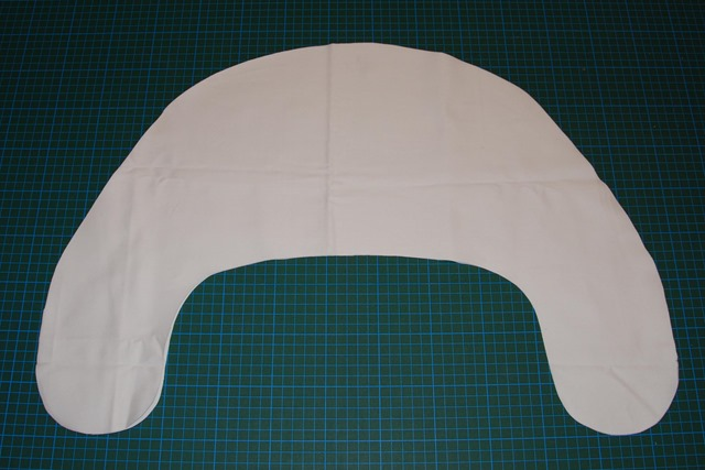 cut out inner fabric