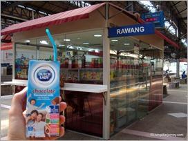 Dutch Lady: Milk Drink inside the KTM Station Convenient store