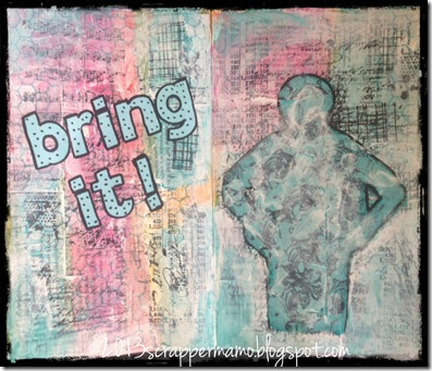 bring it journal page with border