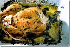 10.Roasted Chicken with Citrus and Garlic