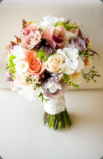 wedding-bouquet-peach-purple-callas-roses  flora nova seattle