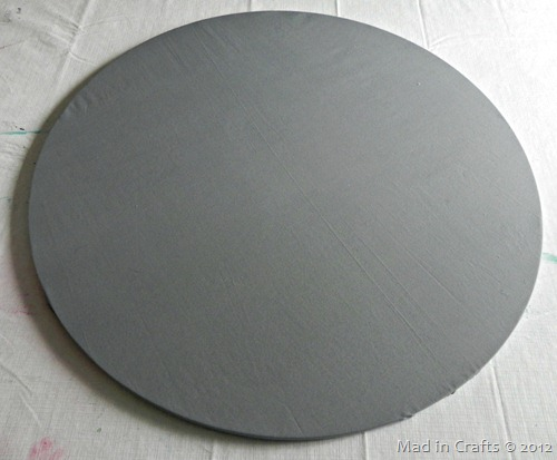 fabric on circle
