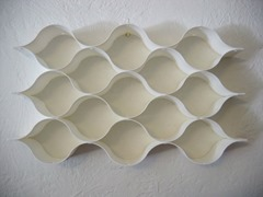 Modular wall pieces