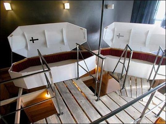 coffin hotel