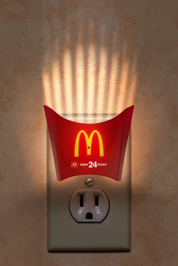 Mcdonalds nightlight w