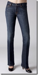 7 for All Mankind Bootcut Dark