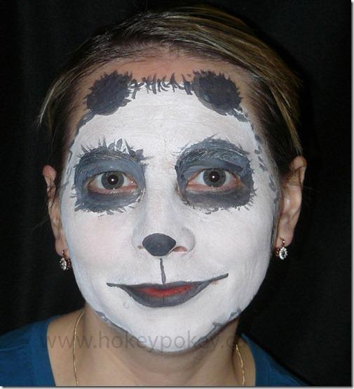 maquillaje de oso panda (5)