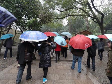 Ploaie in Suzhou