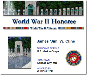 WW2 Memorial Registry