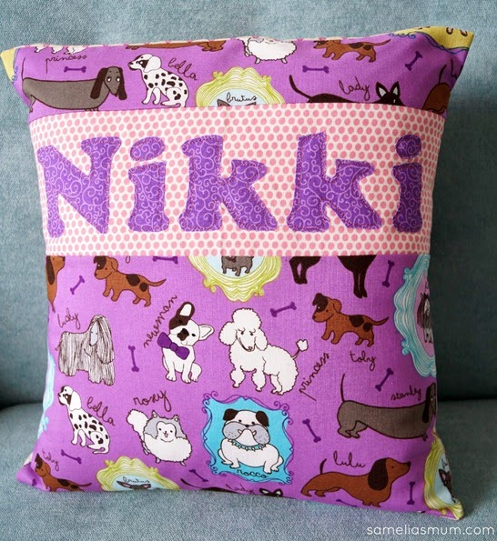 PJ Pillow - Nikki
