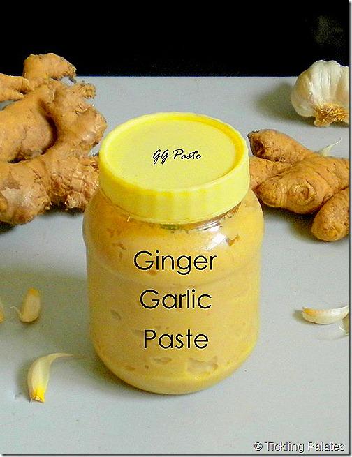 Homemade Ginger Garlic Paste | Tickling Palates