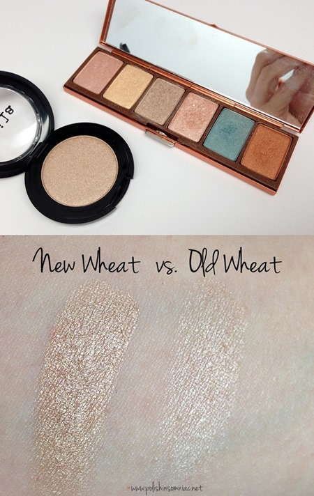 Stila Wheat Shadow (new formula vs old formula)