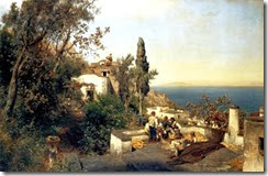 Achenbach,_Oswald_-_Italian_coasts_landscape_near_Naples_(1880)