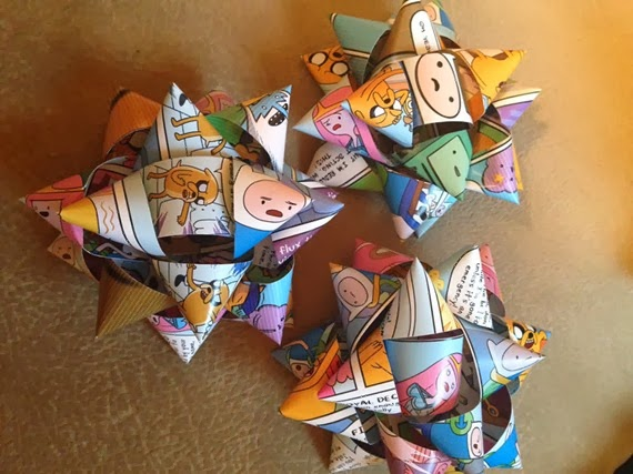 Adventure Time Holiday Bows from Nerdy Girl Raven