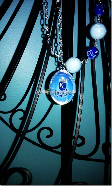 KC Royals Necklace Tattoo