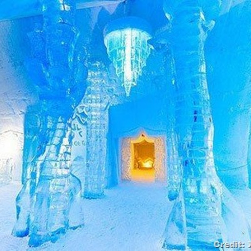 10 COOLEST ICE HOTELS ON EARTH
