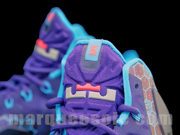 Upcoming Nike LeBron XI 8220Summit Lake Hornets8221