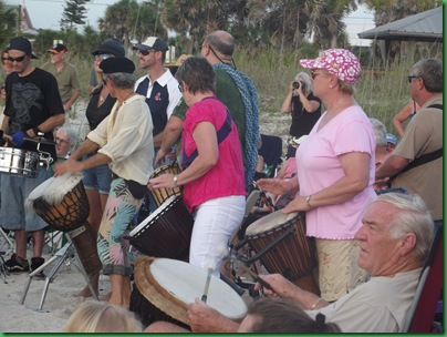 Saturday Full Moon & drumming 047