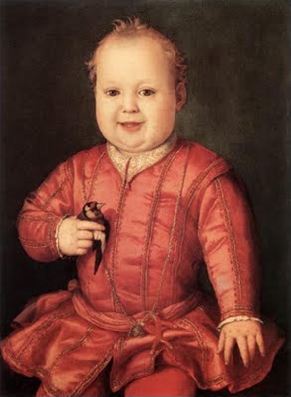 Bronzino, Enfant