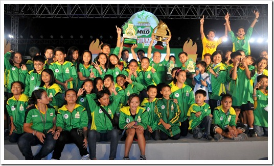 Team NCR ends 3-year championship drought on home soil at the 25th MILO Little Olympics