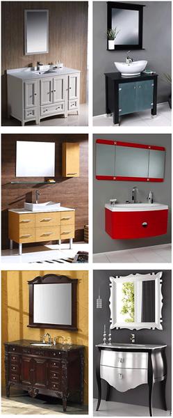 Different vanity styles