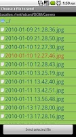 Screenshot of EZ Drop (File Sync)