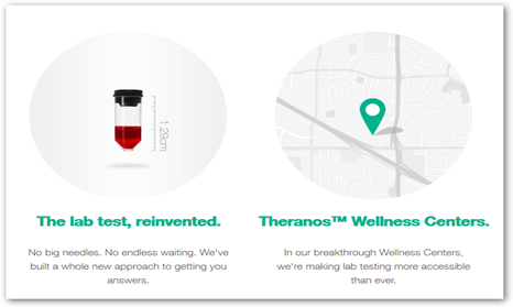 Theranos, Inc  And Walgreens Partner to Offer In Store Lab Tests