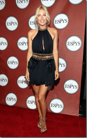 Maria Sharapova 2011 ESPY Awards