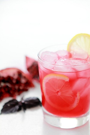 Pomegrante-and-Basil-Gin-Smash_Bakers-Royale-2