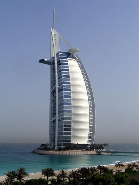63. Burj al Arab (Dubai, Emiratos Árabes Unidos)