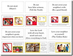 10 Commandments 4Lapbook pg2