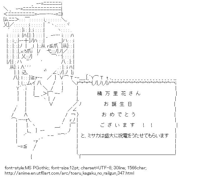 Toaru kagaku no railgun,Sisters,Message board