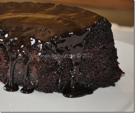 وصفة كيكة الشوكولاته من www.fattoush.me