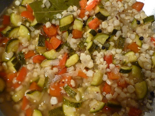 Zucchini and Corn Relish.